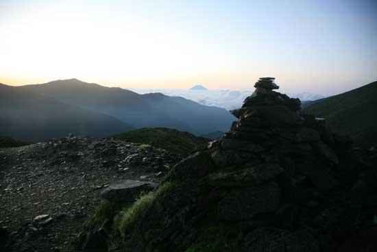 ケルンと富士山