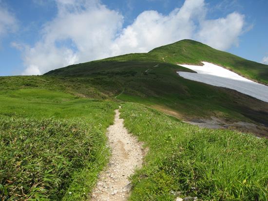 中岳へ向けて