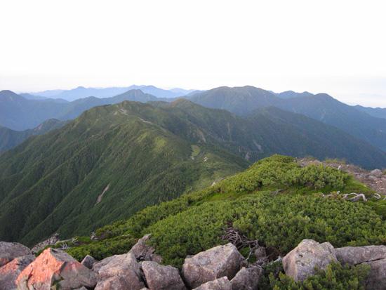 昨日登った山