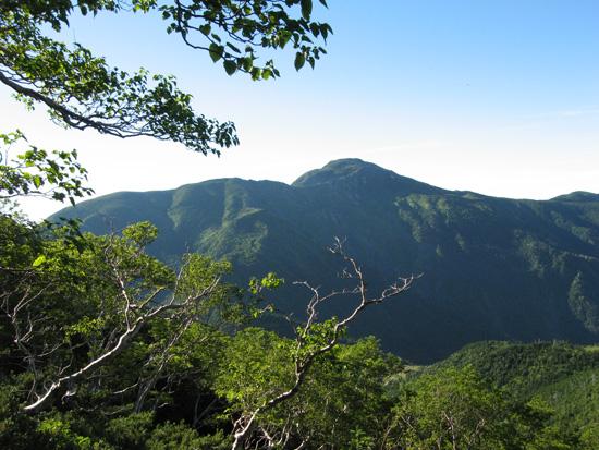 上河内岳がキレイ