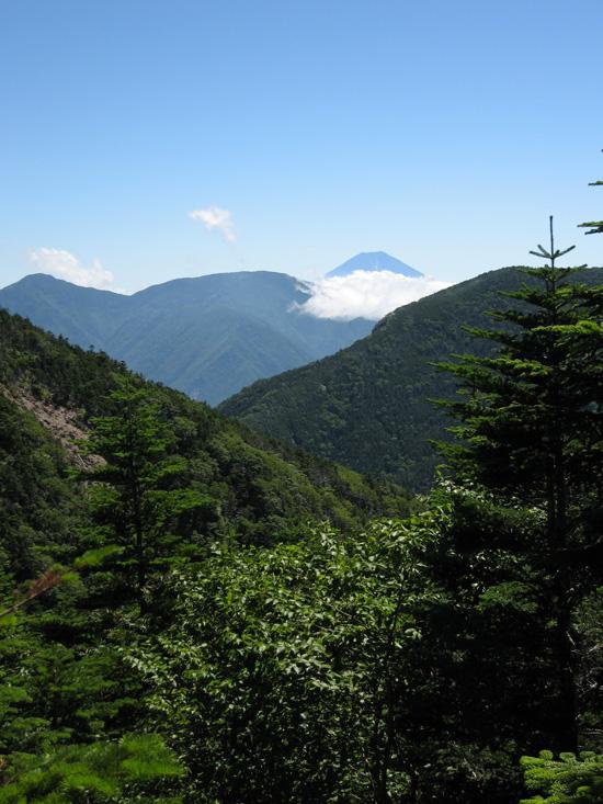 富士山の見納め