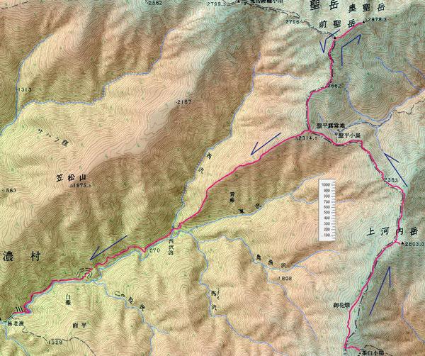 2日目の地図