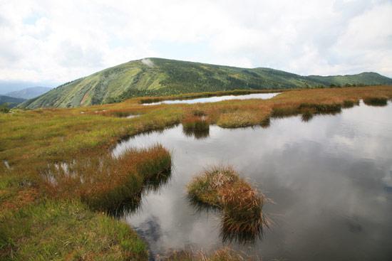 姫ノ池と平ヶ岳