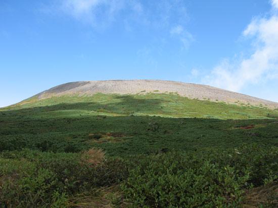 不動平から見た岩手山