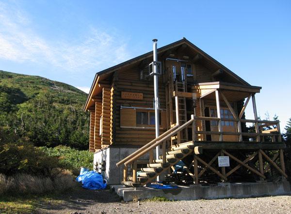 大岳避難小屋