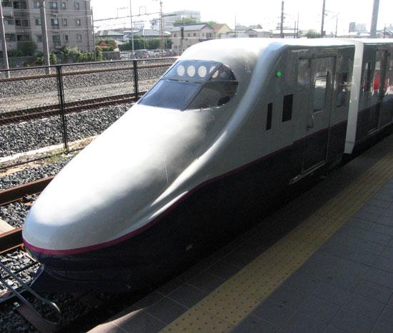 ミニシャトル列車