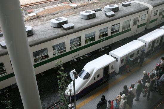 車内で休憩できる電車