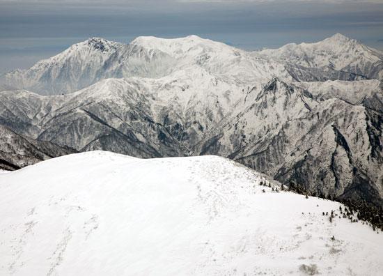 ニセ巻機山