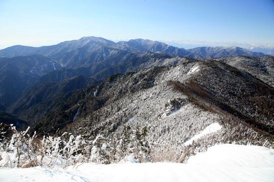 甲武信岳からの展望