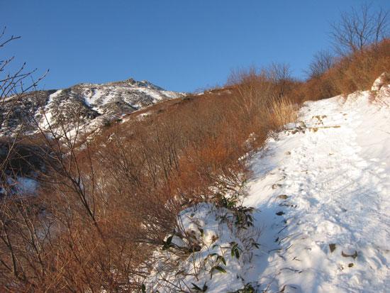 茶臼岳が見えますよ