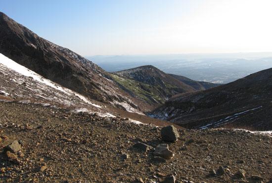 登山口方面