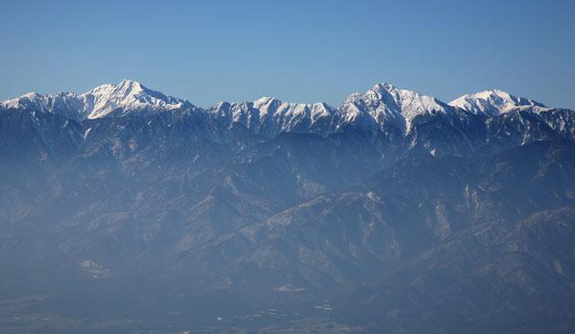 北岳〜千丈岳