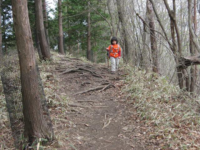 一端の登山者