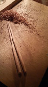 木工教室 箸