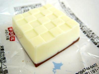 チロルチョコ--北海道 みるく大福。
