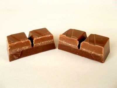 ブルボン--ビット チョコレート 塩キャラメル。