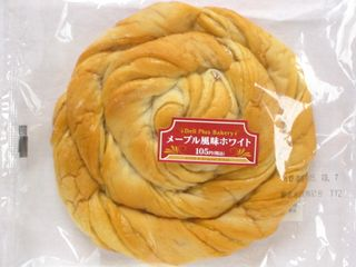 サークルKサンクス--メープル風味ホワイト。