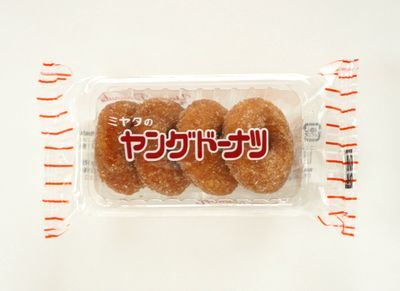 ミヤタ--ヤングドーナツ。