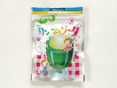 UHA味覚糖--クリームソーダ。