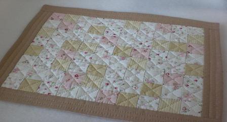 四角つなぎのティーマット 1