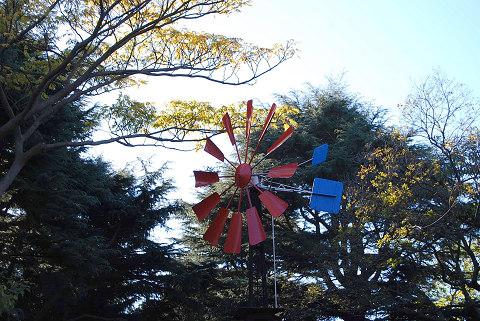 風車ポンプ