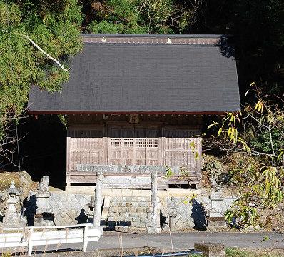 木和田部落の神社