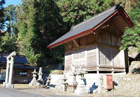 木和田神社の風景