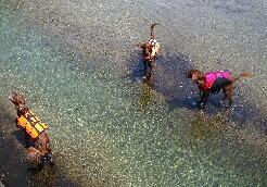 川でピクニック 0460