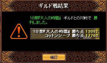 2009/5/9Gv 結果