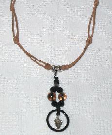 天然石 カレンシルバー ネックレス 1