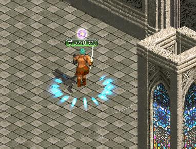 神殿で狩り