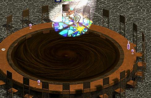 巨大な円卓