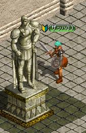 剣士の銅像