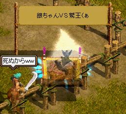 銀ちゃんVS鷲王