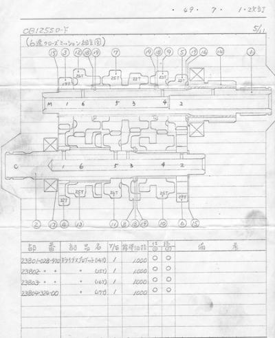 CB125S改訂7