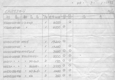 CB125S改訂13