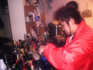 店長酒を作る