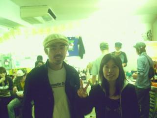 ココちゃん&須藤さん(2人でspareロゴ製作してくれた人)