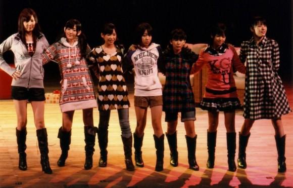℃-uteは7人なんだよ。