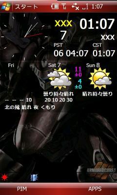 天気予報Script-表示