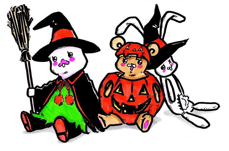 Halloween nuigurumi