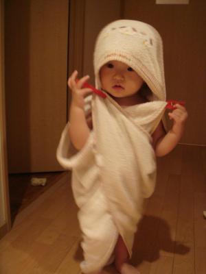 2008,10,13 お風呂上がり