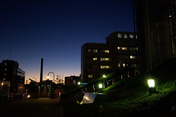 写美前の夕暮れ
