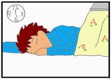 よく寝る3