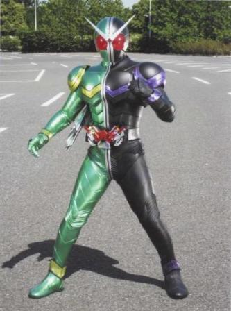 仮面ライダーW01