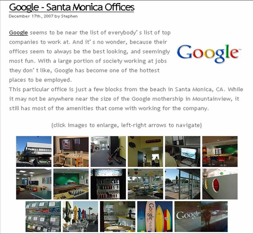 Google - SantaMonica Offices