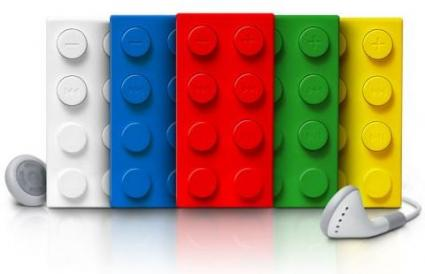 Lego-style MP3