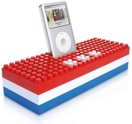 Lego-style iStereo Speaker