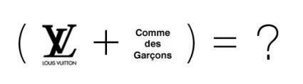 LOUIS VUITTON×COMME des GARCONS