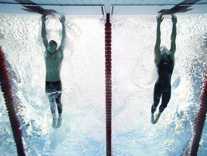 Phelps' Miracle Finish